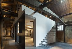 Gallery of Fukuchiyo Sake Brewery / yHa architects - 10