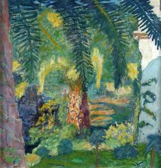 Pierre Bonnard (French, 1867-1947), Palm Trees at le Cannet, 1924