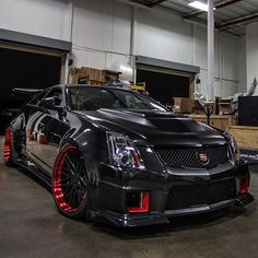 Widebody CTSV • Follow @metrorestyling • For all your wrap needs • • Get your supplies from • • www.Metrorestyling.com • _____________________________ • Photo by: @D3cadillac •