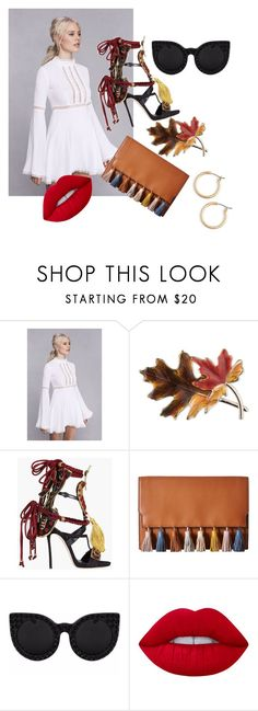 """:) happy"" by tinaair on Polyvore featuring Anne Klein, Dsquared2, Rebecca Minkoff, Lime Crime and Nordstrom"