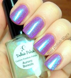 Dollish Polish - Aurora Borealis shimmer