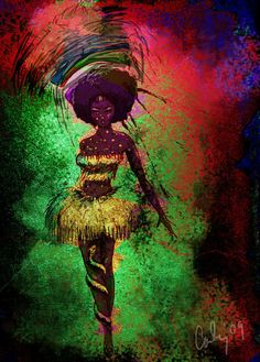 Equatorial Guinea Showgirl Col by *carlylyn