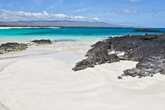 Puerto Chino Strand auf San Cristobal, Galapagos-Inseln