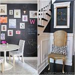 9 Ideas For Chalkboard Painted Walls