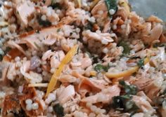 Salmon & Couscous Salad Recipe -  I think Salmon & Couscous Salad is a good dish to try in your home.