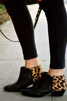 Leopard Ankle Booties | Fall Style