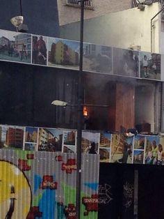 Se incendia Edificio de Inavi en la av. Francisco de Miranda #Caracas #1A  pic.twitter.com/CifejP0ETa