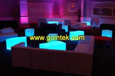 led bar seating Cube Color Changing LED Light, Skype: gointekcom Email: gointekcom@gmail.com MSN:gointekcom@hotmail.com Web: www.gointek.com