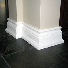 Bathroom Baseboard Trim Ideas Beautiful Bold Baseboards for Added Appeal Moulding Molding Diy Home Decor House Upgrade Baseboard Styles, Baseboard Molding, Floor Molding, Base Moulding, Moldings And Trim, Diy Molding, Baseboard Ideas, Molding Ideas, Shoe Molding