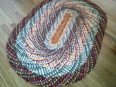 No-sew rag rug- on my to do list