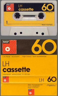 BASF cassette.  If you know what this is, you're getting old.