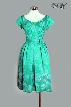 Emerald Green Vintage Cocktail Dress Online   Emerald Green