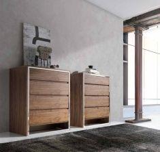 angel cerda polaris modern tv cabinet in walnut and glass angel cerda living room and dining. Black Bedroom Furniture Sets. Home Design Ideas