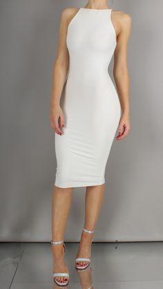 Taylor Bodycon Midi Dress // If I have to wear a dress. Tight Dresses, Sexy Dresses, Cute Dresses, Casual Dresses, Fashion Dresses, Grad Dresses, Dress Outfits, Dress Up, Bodycon Dress Formal