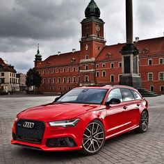 The King, at the Castle of Warsaw, striking a mighty pose. Car: 2016 @Audi RS6 Avant Performance (605, V8 4.0 TwinTurbo) Color: Misano red metallic Performance: 0-100kmh 3.48sec (measured), 3.7 sec (official) Location: Warsaw, Poland Facebook: facebook.com/auditography YouTube: YouTube.com/c/auditography Camera: Canon Eos 5D Mark II / 24-70mm Thanks to: Audi Poland (@audipl) Remember, ALL my photos are available on my popular Facebook page, where you can download them in their high…