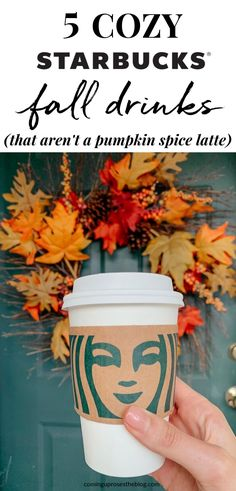 5 Favorite Cozy Starbucks Fall Drinks (that aren't a Pumpkin Spice Latte) Starbucks Fall Drinks, Starbucks Latte, Starbucks Secret Menu Drinks, Starbucks Recipes, Summer Drink Recipes, Drinks Alcohol Recipes, Summer Drinks, Alcoholic Drinks, Beverages