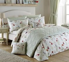Stylish and contemporary duvet covers available from Dunelm. Our bed linen range includes a variety of colours and patterns, all made with high quality material and in every size, from single to king size duvet covers. Bed Sets, Duvet Sets, Bedroom Bed, Home Decor Bedroom, Bedroom Interiors, Guest Bedrooms, Bedroom Ideas, Master Bedroom, Room Decor