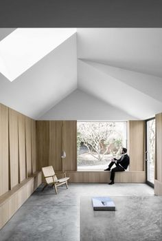 McLaren Excell adds pale-brick extension to black-painted Victorian house Residential Architecture, Interior Architecture, London Architecture, Residential Interior Design, Contemporary Interior, Luxury Interior, Interior Styling, Brick Extension, Rear Extension