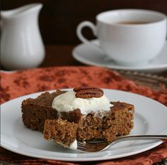 You just have to try this Magical Pumpkin Pecan Spice Cake! A slow cooker pumpkin pecan spice cake like this is hard to come by, and with this pumpkin pecan cake recipe, you'll have a wonderful fall dessert to share with your loved ones.