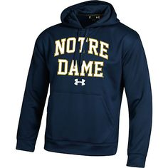 University of Notre Dame Under Armour Hooded Sweatshirt