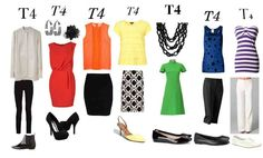 mix and match wardrobe Type 4 Dressing Your Truth (DYT)