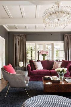 Marsala el color tendencia del 2015 | Decorar tu casa es facilisimo.com