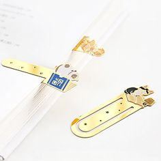 Cat Toys And Treats - 5 PCS Cute Cartoon Cat Bookmark Metal Bookmark School Office Supplies Journal Vintage Bookmark Stationery * You can get additional details at the image link. (This is an affiliate link) #CatToysDoor