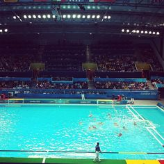 aizacruzwing's photo  of Olympic Water Polo Arena on Instagram