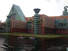 Swan and dolphin hotel! At Disneys Board Walk!