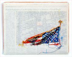 Hand-Embroidered Issues of The New York Times by Lauren DiCioccio (12 Pictures)  MC Winkel · Abgelegt: Design und so,Film-/ Fotokunst,Installationen | 11.07.2012