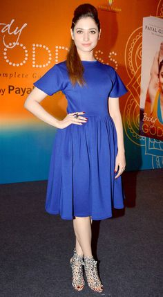 Tamannaah Bhatia at Payal Gidwani's book launch