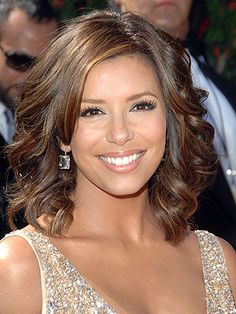 Eva Longoria is known for her role in Desperate Housewives.  She is a Mexican American whose family has resided in Texas since before it was part of the USA...wow!