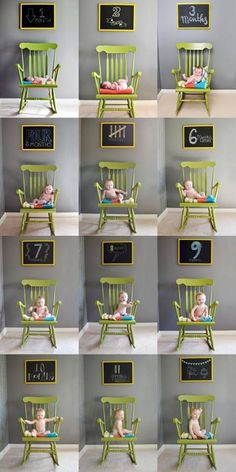 Great idea, particularly the chair....DIY here I come @Erin B Ware - baby Amelia in her nursery chair?