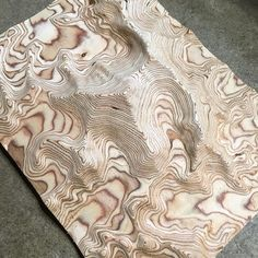 Landscape architecture topography contours 55 ideas for 2019 Layered Architecture, Landscape Architecture, Plywood Art, Topography Map, Landscape Model, Digital Fabrication, Wood Wall Art, Wood Carving, Animal Print Rug