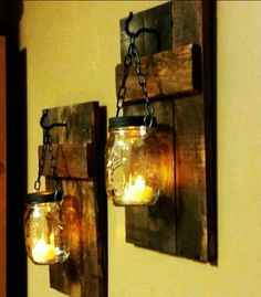 Easy DIY mason jar light! (Photo only)