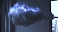 Smart Cloud Mimics a Thunderstorm and Plays Music