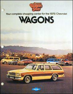 1978 Chevrolet Chevelle, Malibu, Monza, Vega, Suburban, Sportvan & Blazer 20 page color catalog original automobile literature