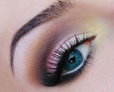 maquillage-yeux-idee-ete-smokey-eye-mascara-noir-cils-sourcils