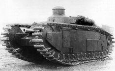 Средний танк разработки FCM. Сходство с FCM 2C налицо, причем башня командира – это кормовая башня с тяжелого танка - Начало тернистого пути к «боевому танку» | Военно-исторический портал Warspot.ru