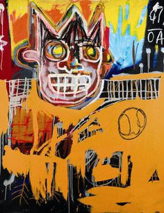 Jean-Michel Basquiat., Orange Sports Figure.  £4073250