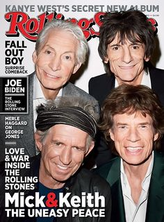 rolling stones mick jagger keith richards charlie watts ronnie wood terry richardson cover 1183