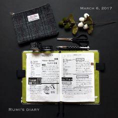 2017/03/06 2017/02/08-9のほぼ日手帳。 #hobonichitecho #hobonichi #ほぼ日手帳 #ほぼ日 #ほぼ日手帳カズン #ほぼ日カズン
