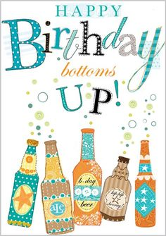 Card Ranges » 3814 » Beer Bottles - Abacus Cards - Greetings Cards, Gift Wrap & Stationery