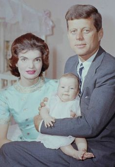 The Kennedy's, April 1958.