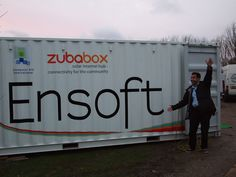 One of 3 Ensoft ZubaBoxes that were sent to Africa