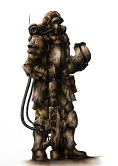 allthingswarhammer:  31st Harakoni Warhawks Stormtrooper, Painted by Brilliane Feldo http://gbp24.me/1k4sKlD