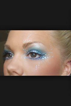 Mermaid makeup for eyes