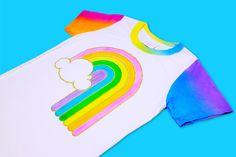Rainbow T-shirt - BIG BUD PRESS