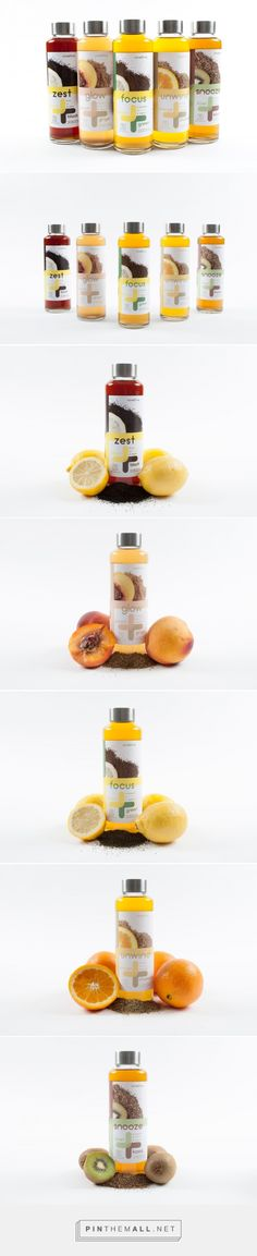 Nine2five Fruit Infused Tea (Student Project) - Packaging of the World - Creative Package Design Gallery - http://www.packagingoftheworld.com/2016/10/nine2five-fruit-infused-tea-student.html