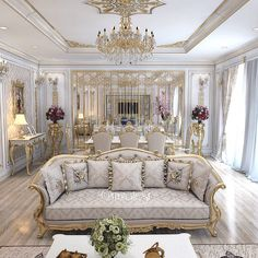 Stunning Ideas To Decorate Stylish Living Room Luxury Rooms, Luxury Home Decor, Luxury Interior Design, Luxury Living, Interior Paint, Living Room Grey, Living Room Decor, Living Rooms, Plafond Design